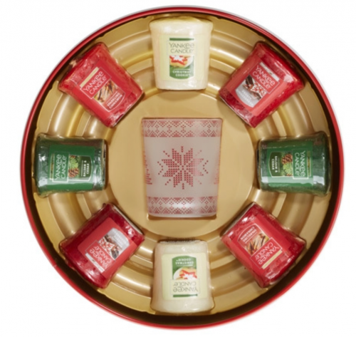 Holiday candles sampler set from Yankee Candle