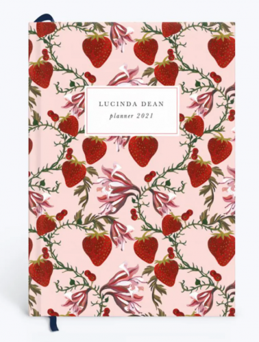 Cute 2021 planners - Strawberry planner from Papier