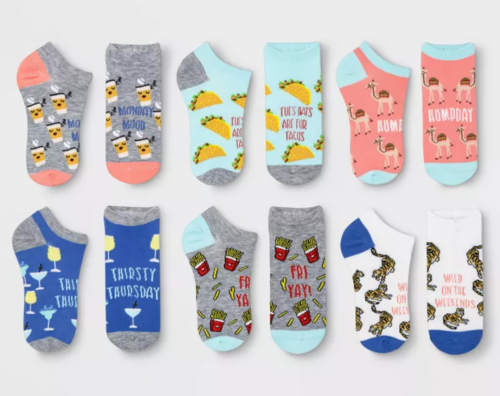 Valentines day gift ideas 2021: Socks set from Target
