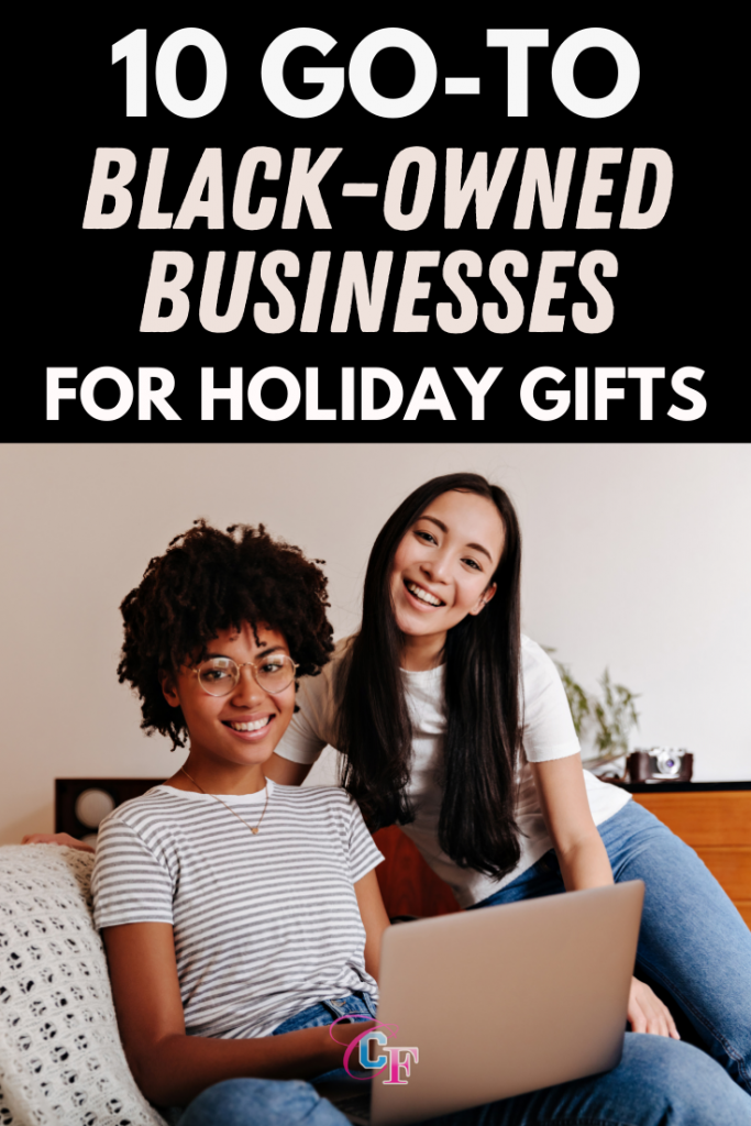 Black owned gift guide - our favorite black owned businesses to shop for holiday gifts