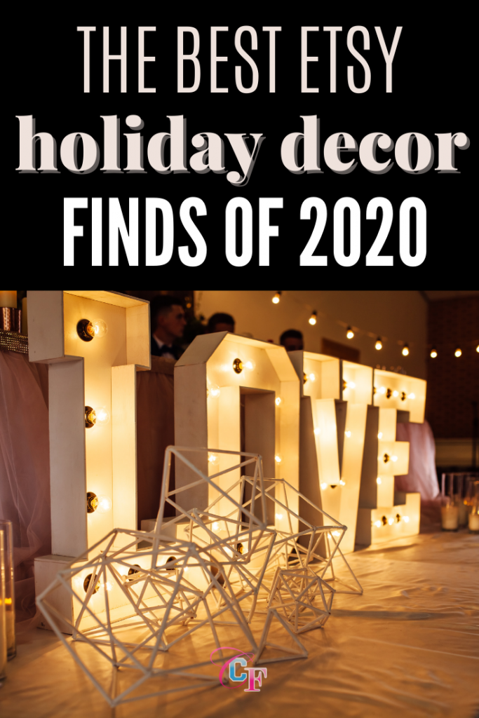 Best etsy holiday decor finds of 2020