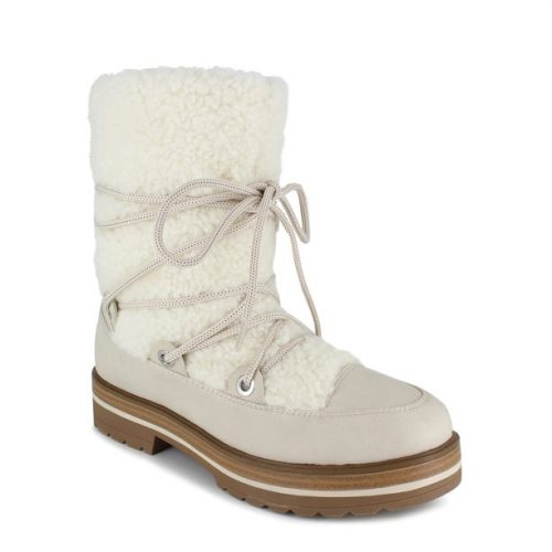 Walmart Shearling Lace Up Boots
