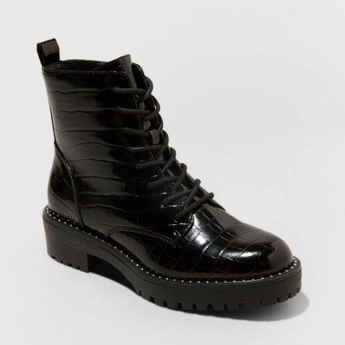 Target Lace Up Combat Boots