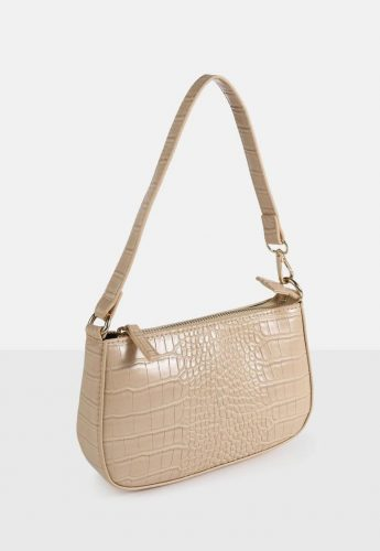 Missguided Croc Shoulder Bag