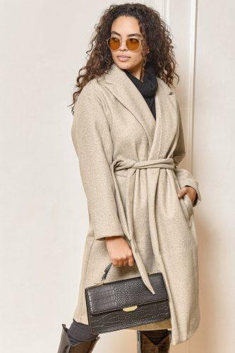 Lulu's Belted Long Jacket