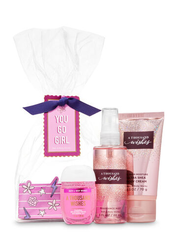 A thousand wishes mini gift set from Bath & Body Works