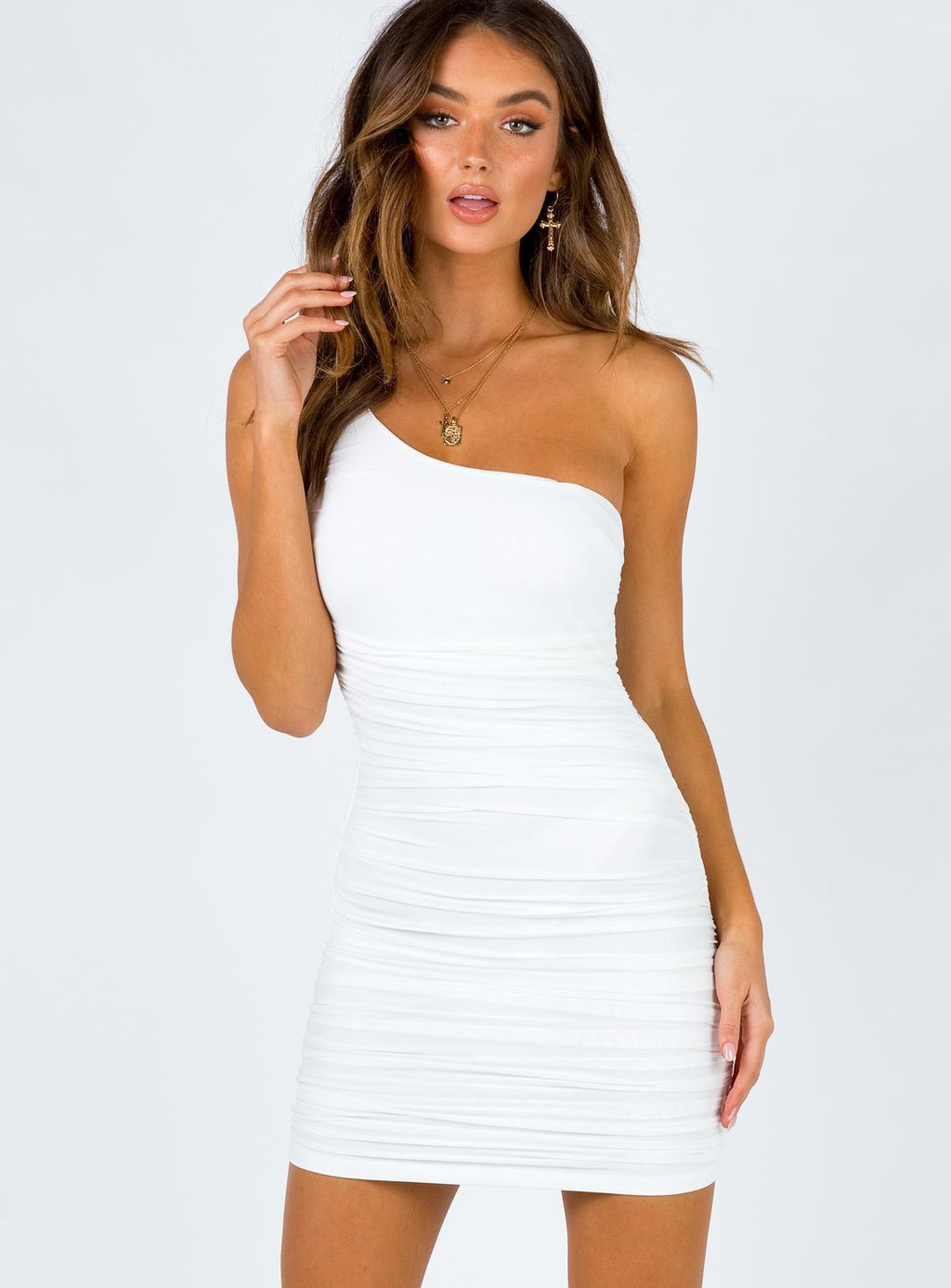 One shoulder dress from Princess Polly