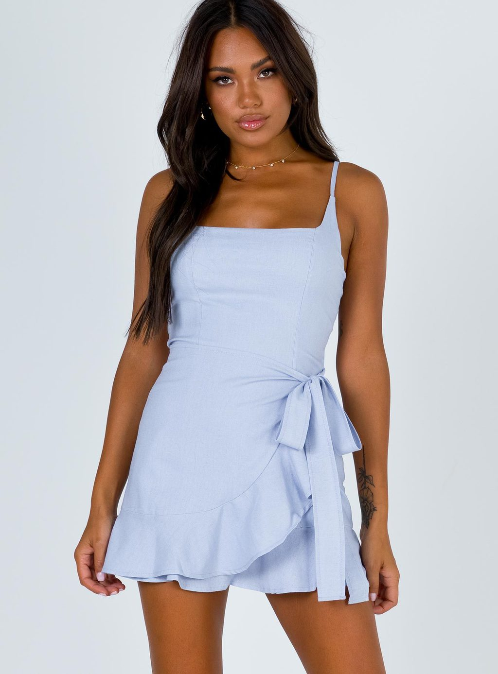 Bow dress from Princess Polly