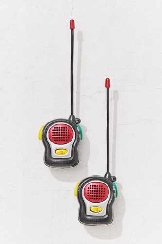 Walkie talkie set from Urban Outfitters