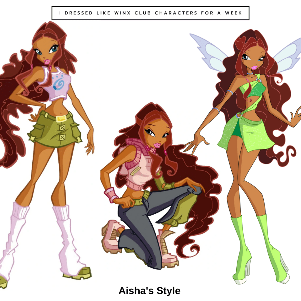 Aisha from Winx Club