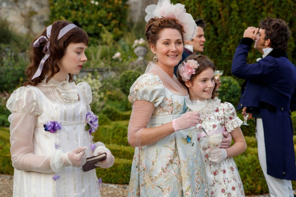 Picture of Eloise, Violet and Hyacinth Bridgerton.