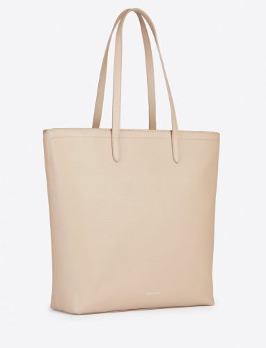 structured off-white tote purse from Draper James