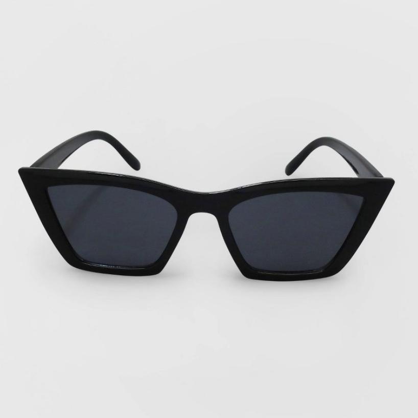 Target Wild Fable Cat Eye Black Sunglasses
