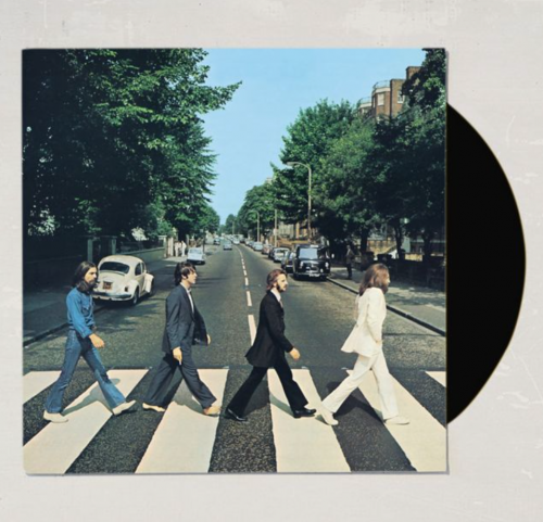 The Beatles record from Urban Outfitters
