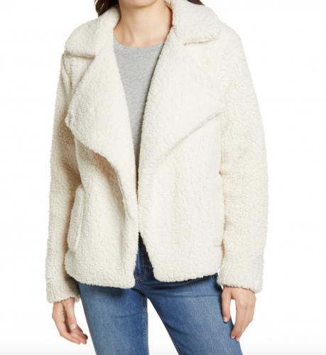 Nordstrom Half Yearly Sale Picks: BB Dakota Faux Fur Jacket at Nordstrom