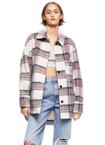 Zara Plaid Overshirt