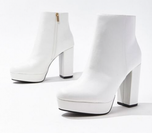 White boots from Forever 21