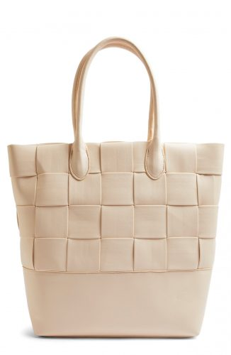 woven beige tote from Nordstrom