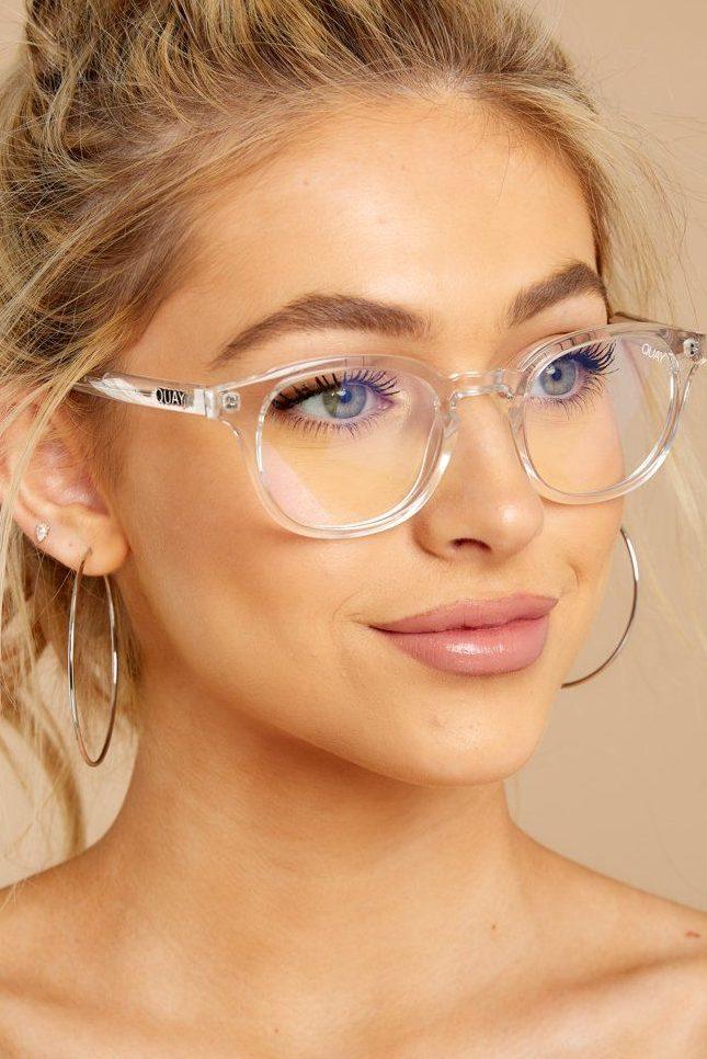 Quay Australia Clear Blue Light Glasses