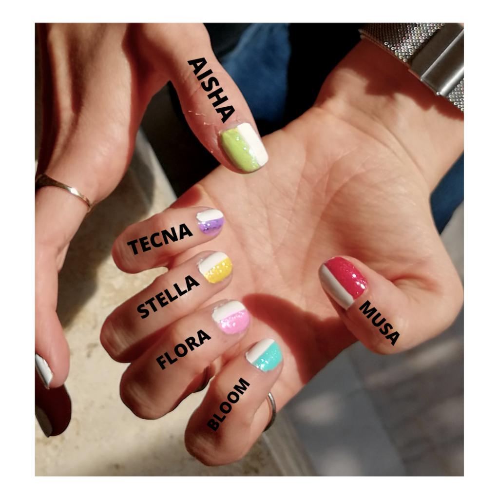 Winx Club nails