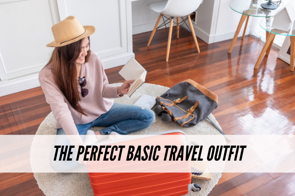 Basic travel outfit