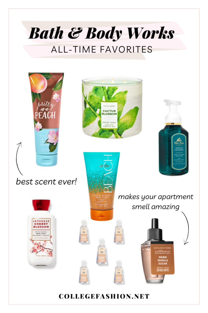 Bath and Body Works favorites