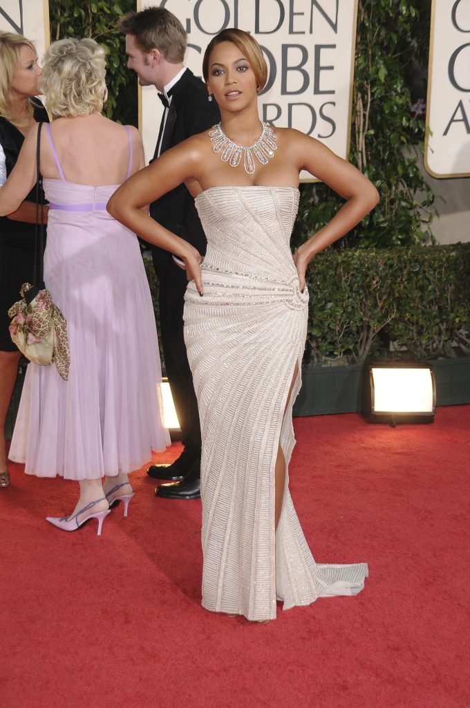 Beyonce Golden Globes 2009