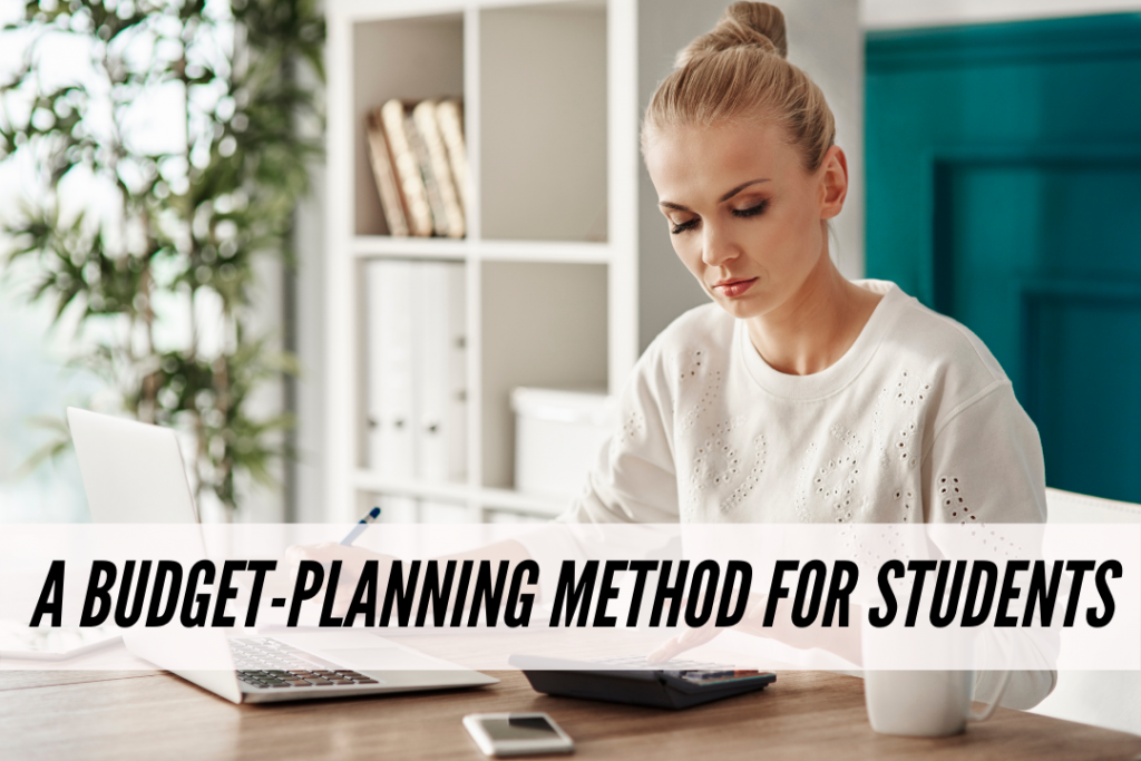A budget planning method for students