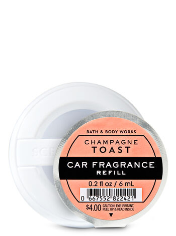 Champagne toast car fragrance from bath and body works