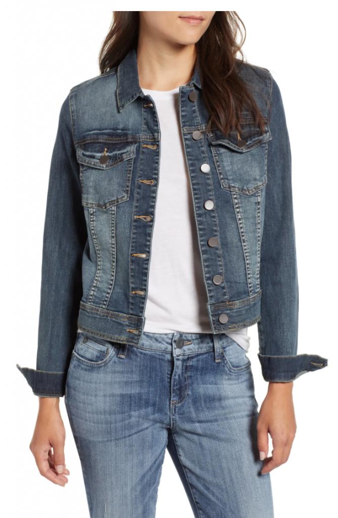 Helena denim jacket from Nordstrom - classic style denim jacket