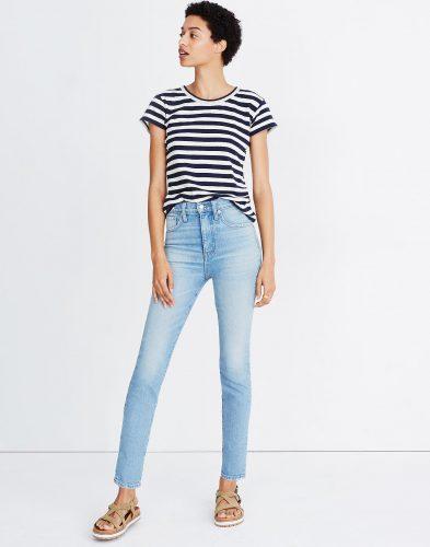 Madewell High Rise Jeans Gordon Wash