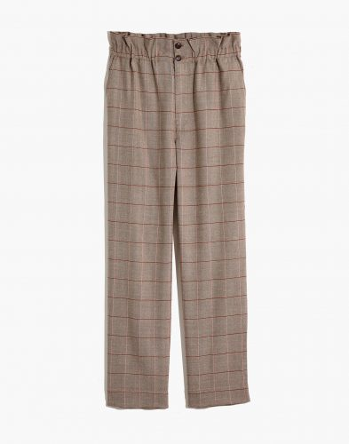 Madewell Paperbag Tapered Pants