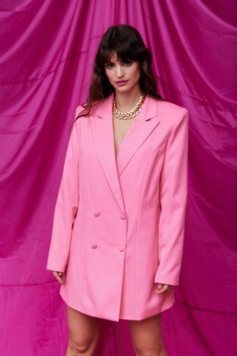 Valentine's Day clothing: Nasty Gal Oversized Blazer Dress