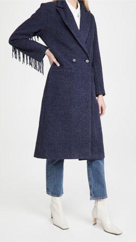 Shopbop Fringe Coat