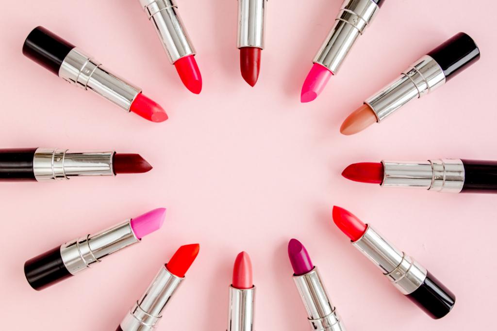 Different lipstick colors