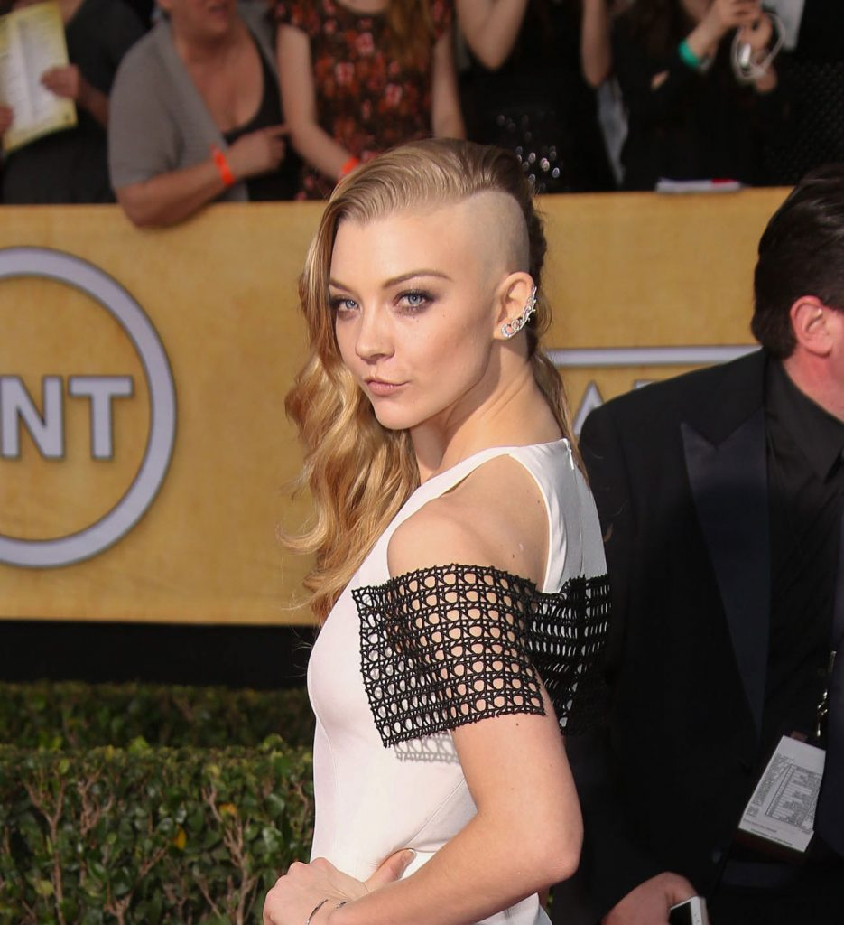 Natalie Dormer with an undercut