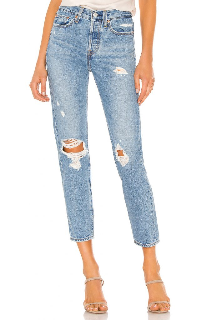 Wedgie icon fit jeans in medium wash