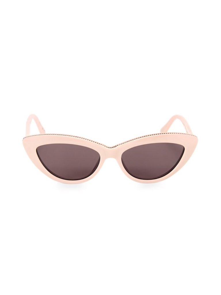 Pink Stella McCartney cat eye sunglasses