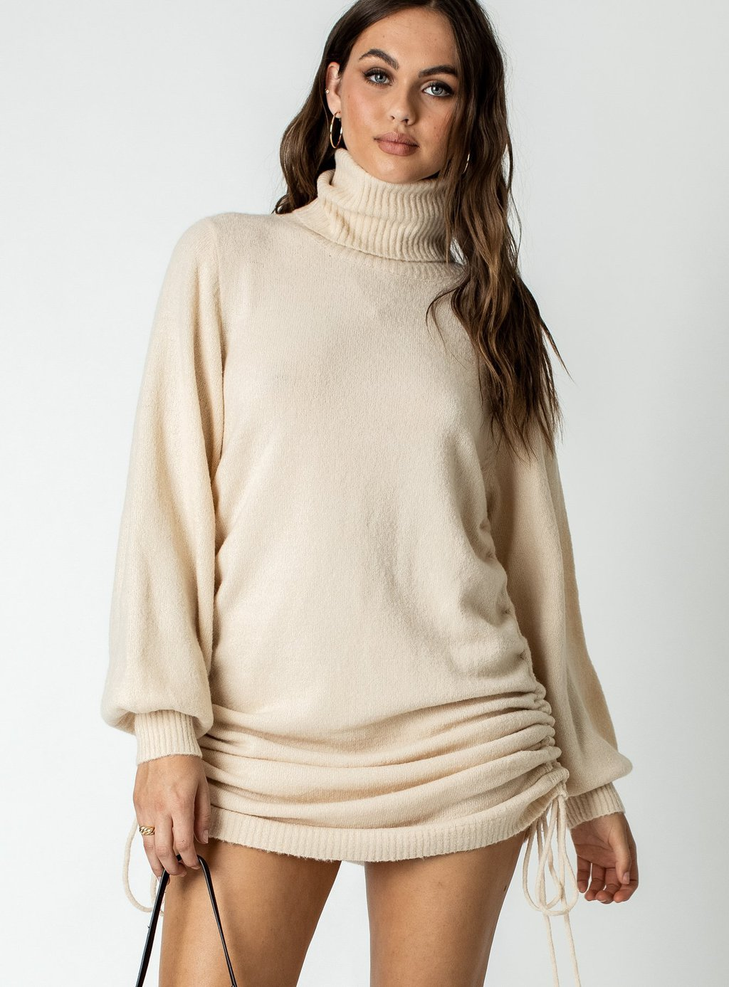 Manhattan mini sweater dress from Princess Polly