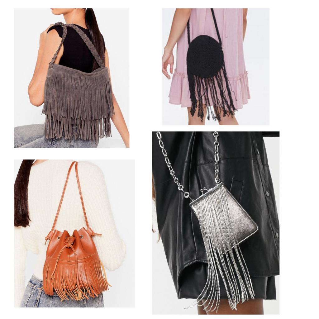 2021 fashion trend - fringe handbags