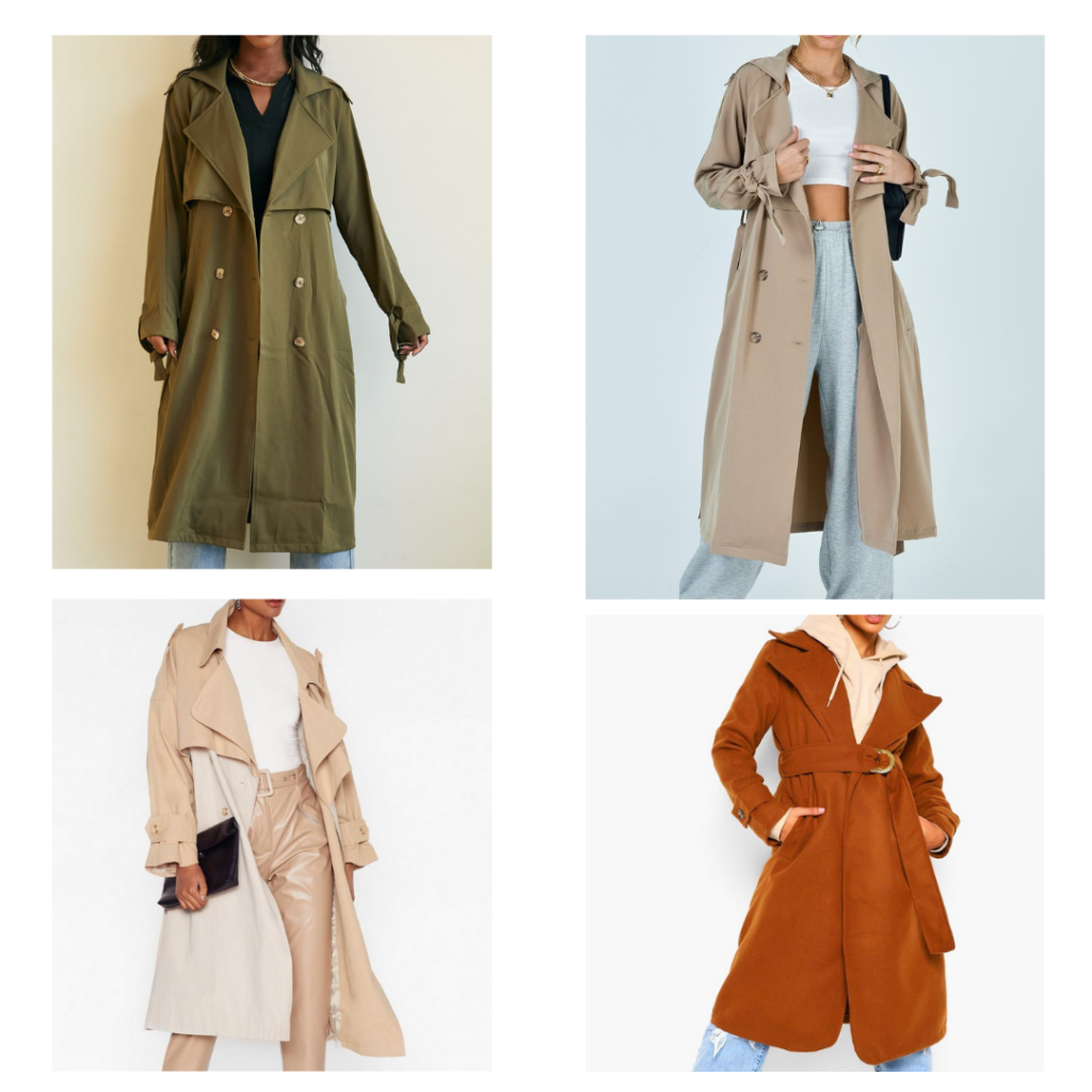 2021 fashion trends - trench coats