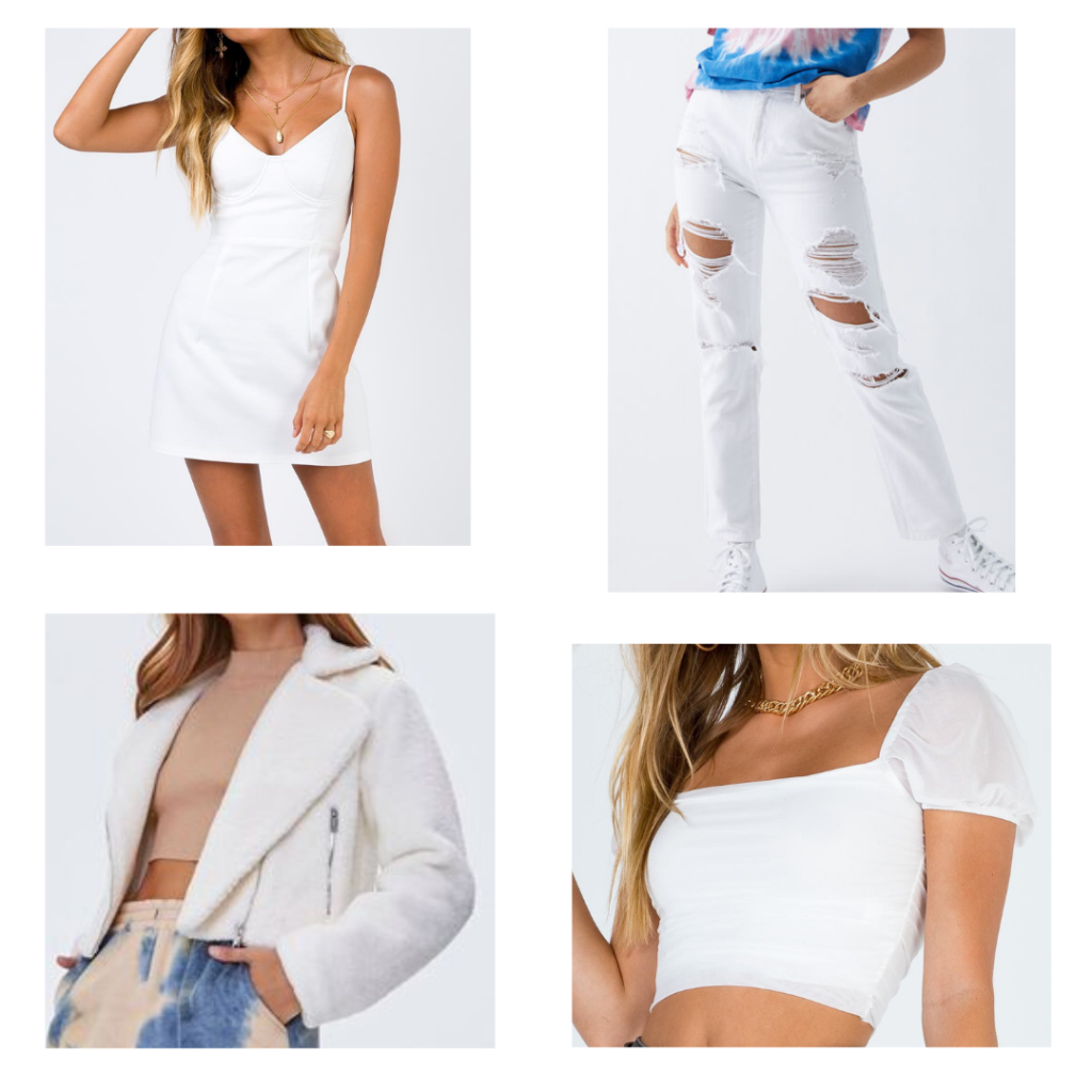 2021 fashion trends - year-round white