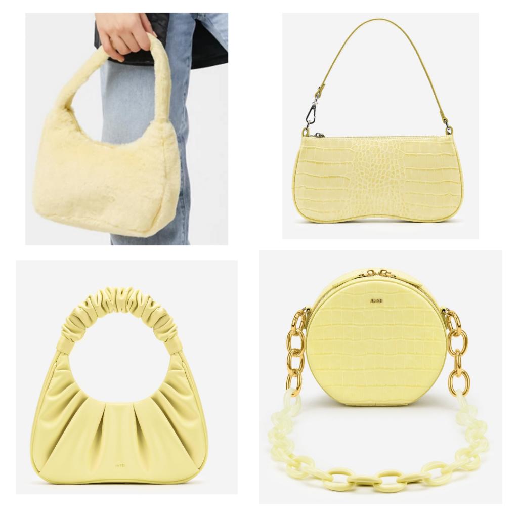 canary yellow purses
