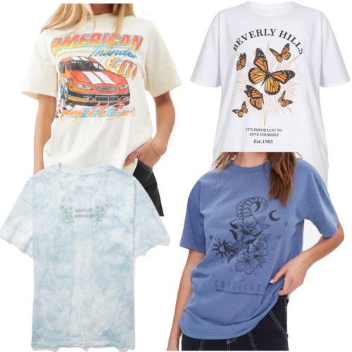 Graphic Print T-Shirts