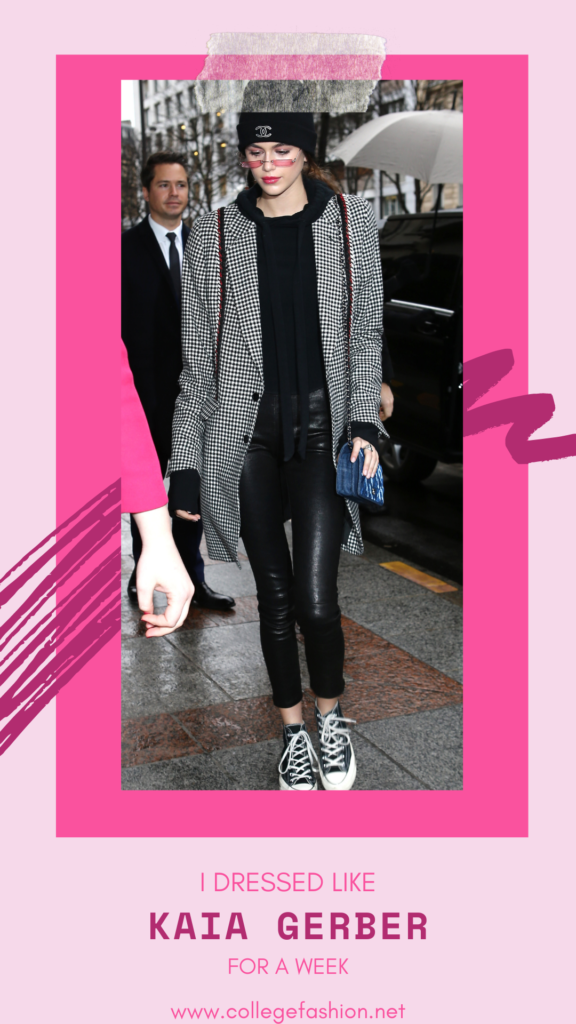 Kaia Gerber's style: I dressed like Kaia Gerber for a week and here's what happened