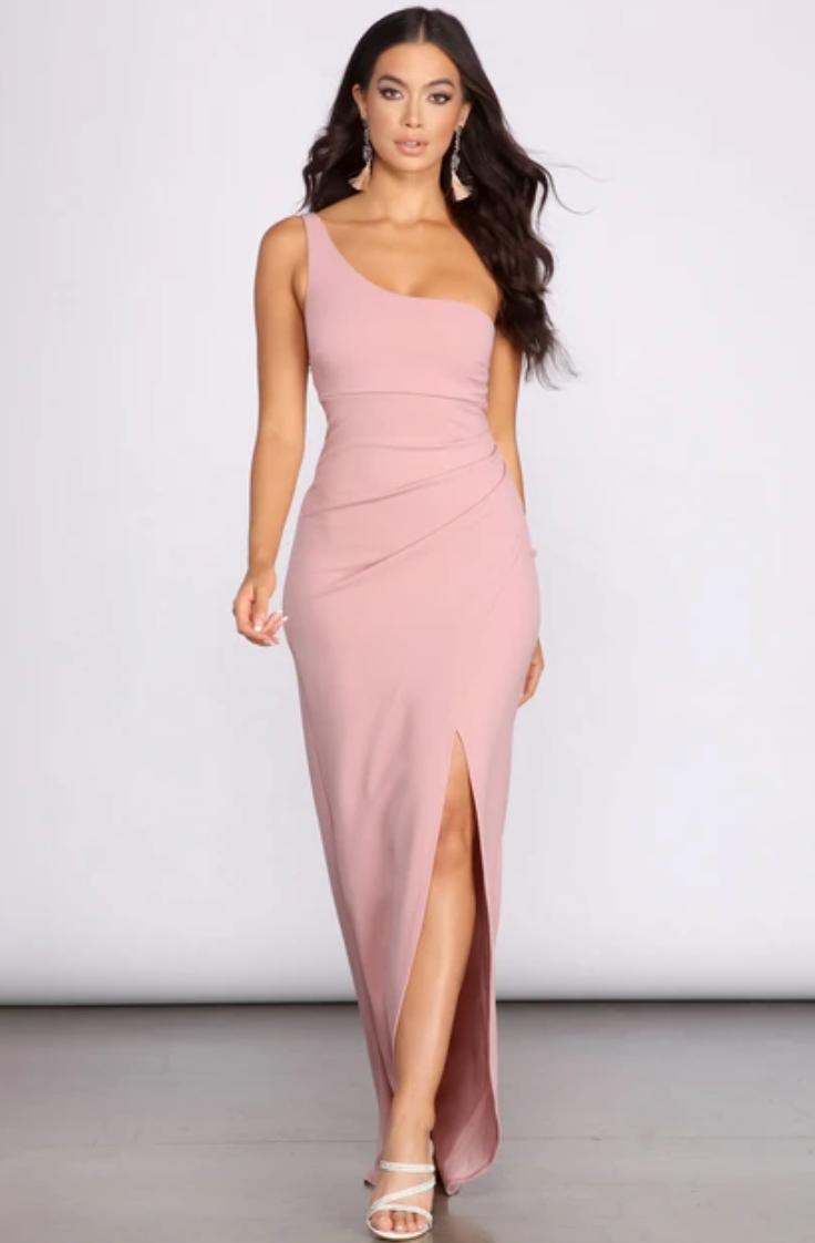 One shoulder dress from Windsor