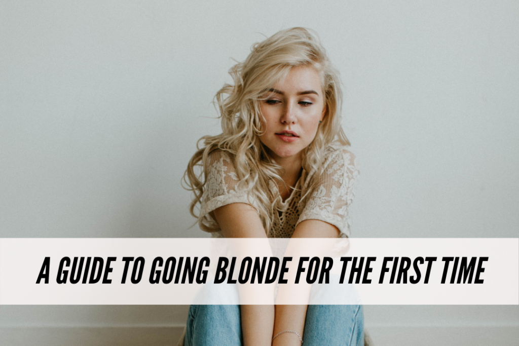A guide to going blonde for the first time