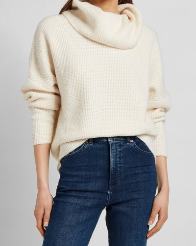 Express Thermal Cowl Neck Sweater