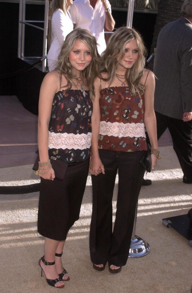 Mary-Kate and Ashley in 2002