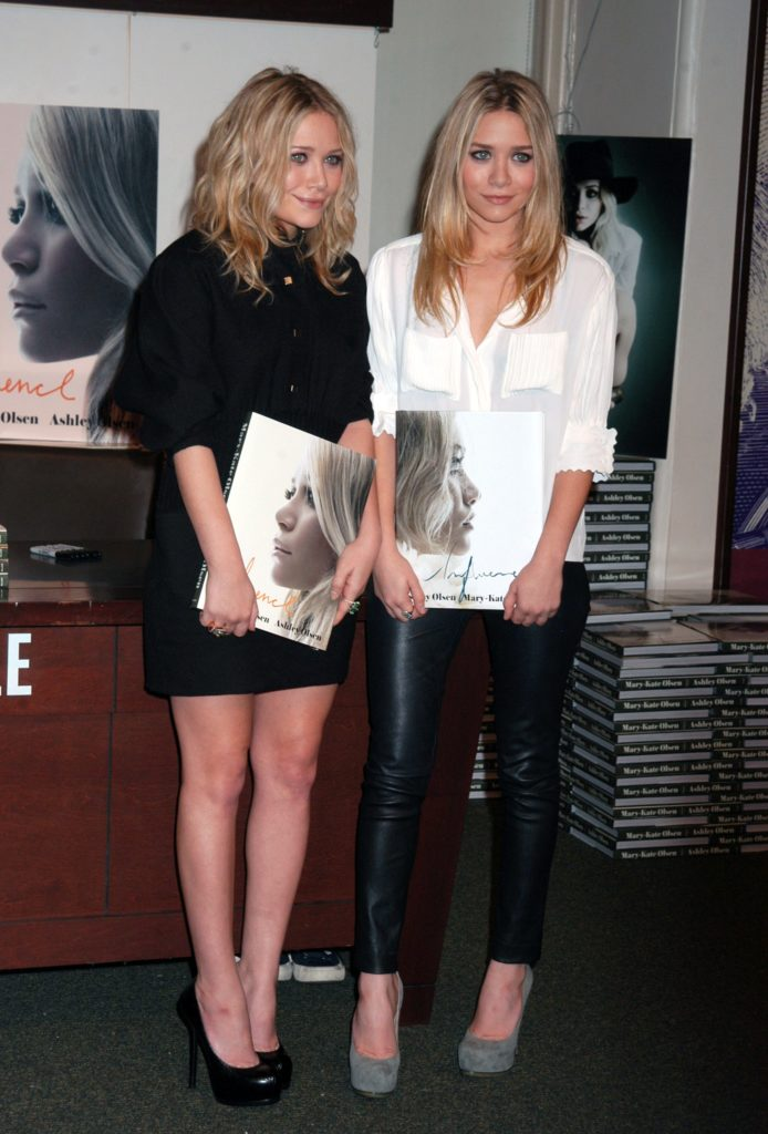 Mary-Kate and Ashley Olsen in 2008